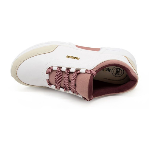 tênis kolosh casual couro sport style daddy shoes