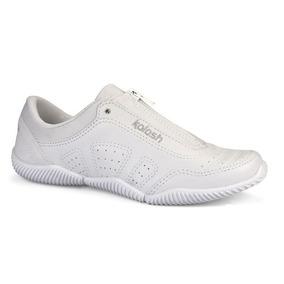 5b0997bfd1 Tenis Kolosh Ziper Branco - Calçados, Roupas e Bolsas com o Melhores ...