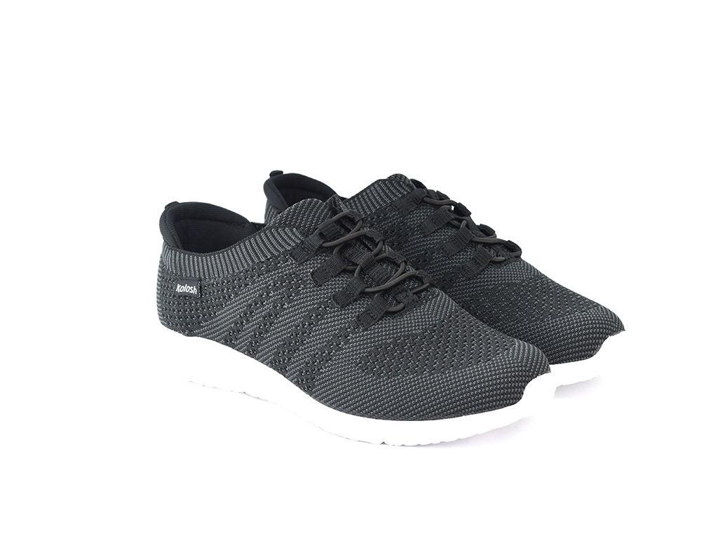 9028a9ea5 tênis kolosh k8344 preto islen calçados. Carregando zoom.