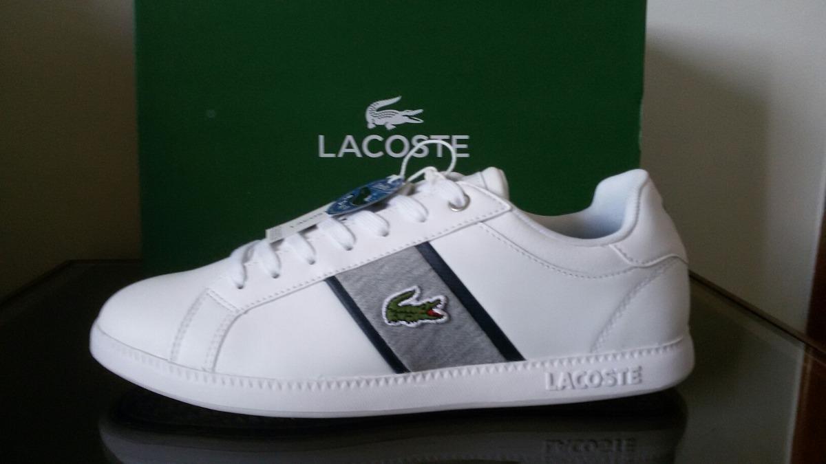 55be2c449fc Tênis Lacoste Couro - R  585