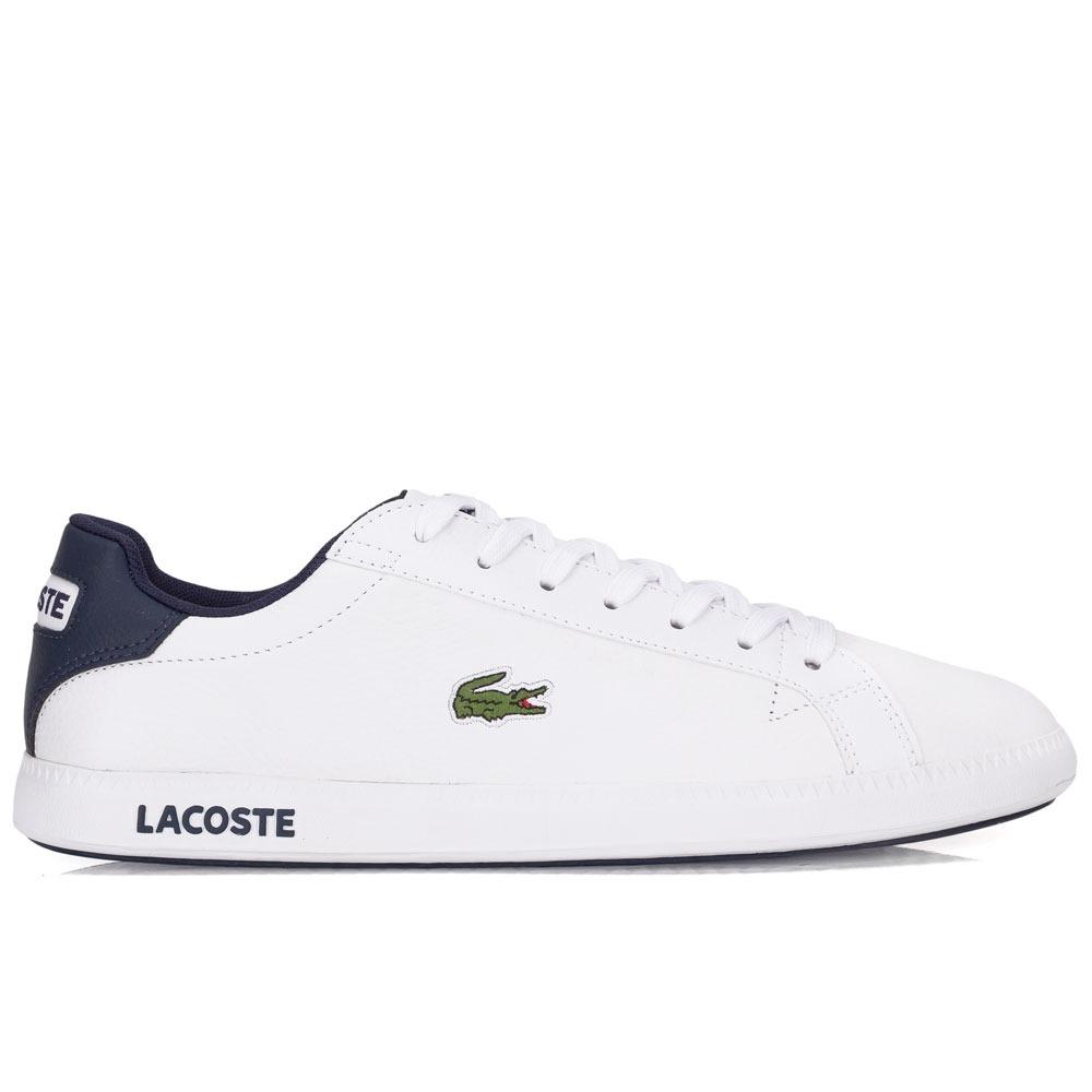 Tênis Lacoste Graduate Lcr3 Branco - R  379,90 em Mercado Livre 55d6b63da4