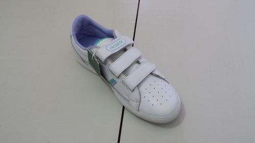 tênis lacoste infantil 100% original