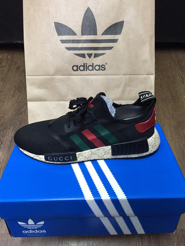 Gucci X Adidas Originals NMD R1 BEE W Bygum Records