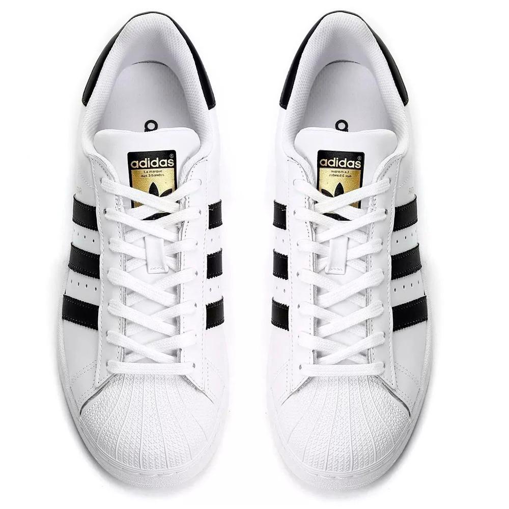 caa2b22548 ... tênis masculino adidas original superstar branco preto novo. Carregando  zoom.