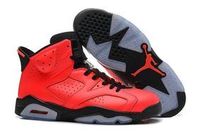 da58cd10cf5 Air Jordan 6 Retro Infrared - Tênis para Masculino no Mercado Livre ...