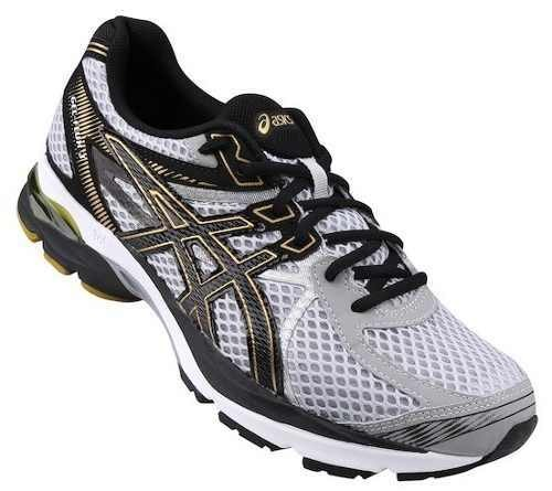 0045474bc57 Tênis Masculino Asics Gel Flux 3 9390 - Cinza ouro - R  442