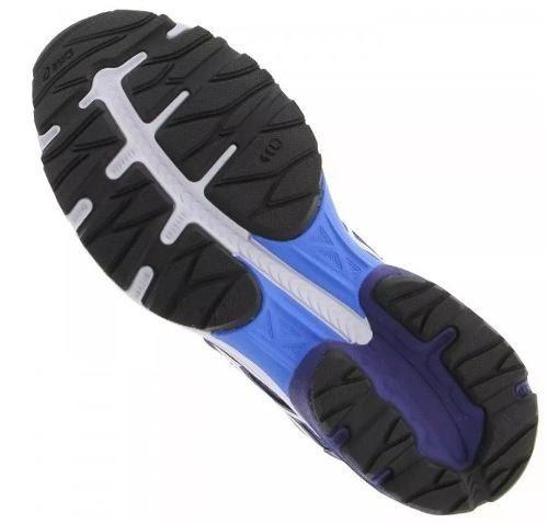 tênis masculino asics gel flux 4a 5201 - azul