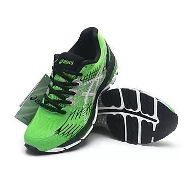 4776aa7ed1bd7 Tênis Masculino Asics Gel Nimbus 17 Verde Promoção - R  399