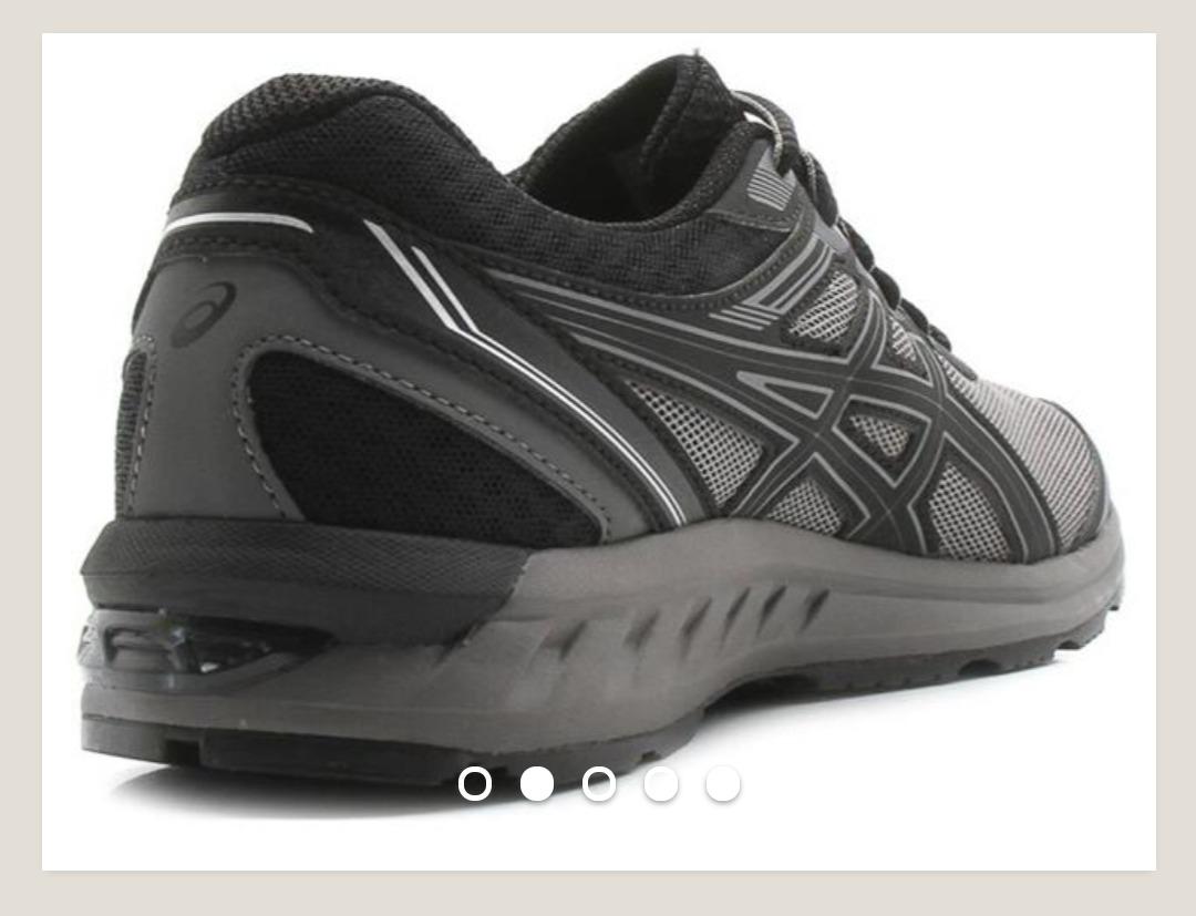 3ae9fe26d6 tênis masculino asics gel sileo - preto e chumbo - importado. Carregando  zoom.