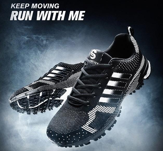 Tênis Masculino Corrida Caminhada Esporte Keep Running