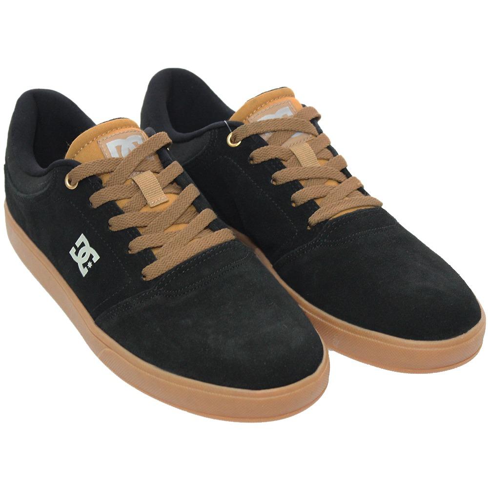 595d8d9b9e2695  tênis masculino dc shoes crisis skate original preto marrom.  Carregando zoom. ab7625764ff61