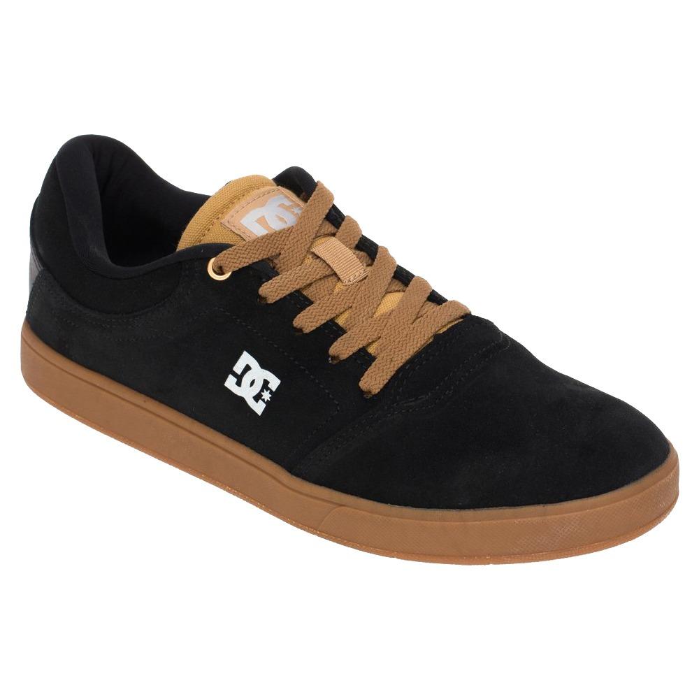tênis masculino dc shoes crisis skate original preto marrom. Carregando zoom . b454fc37ee1a3