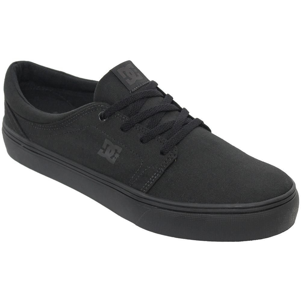 tênis masculino dc shoes trase tx skate original preto. Carregando zoom. 013a7860df6f4