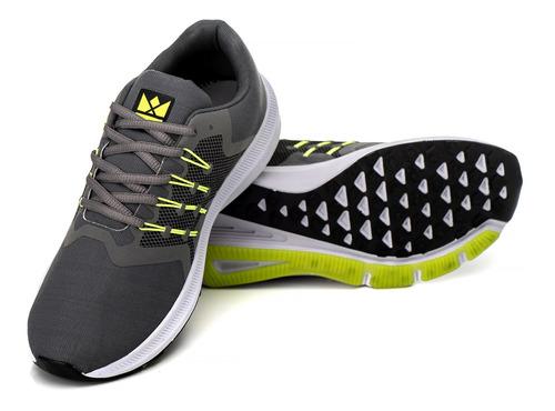 tênis masculino de corrida academia caminhada treino barato