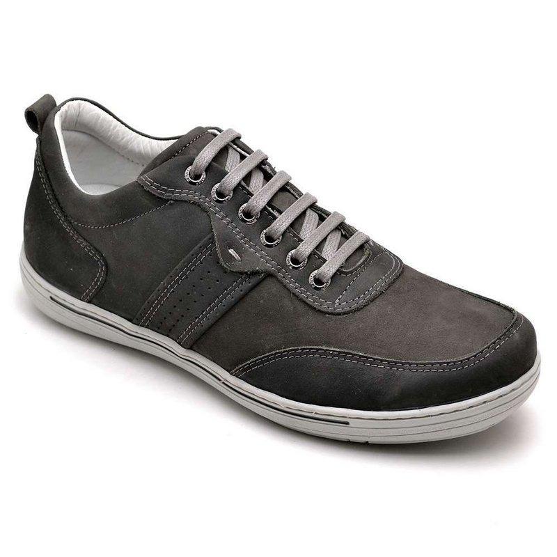 c750a72973 tênis masculino em couro legítimo confortável palmilha gel. Carregando zoom.