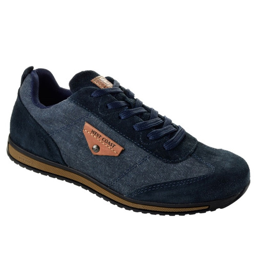 tênis masculino joplin west coast 126907-3 - azul