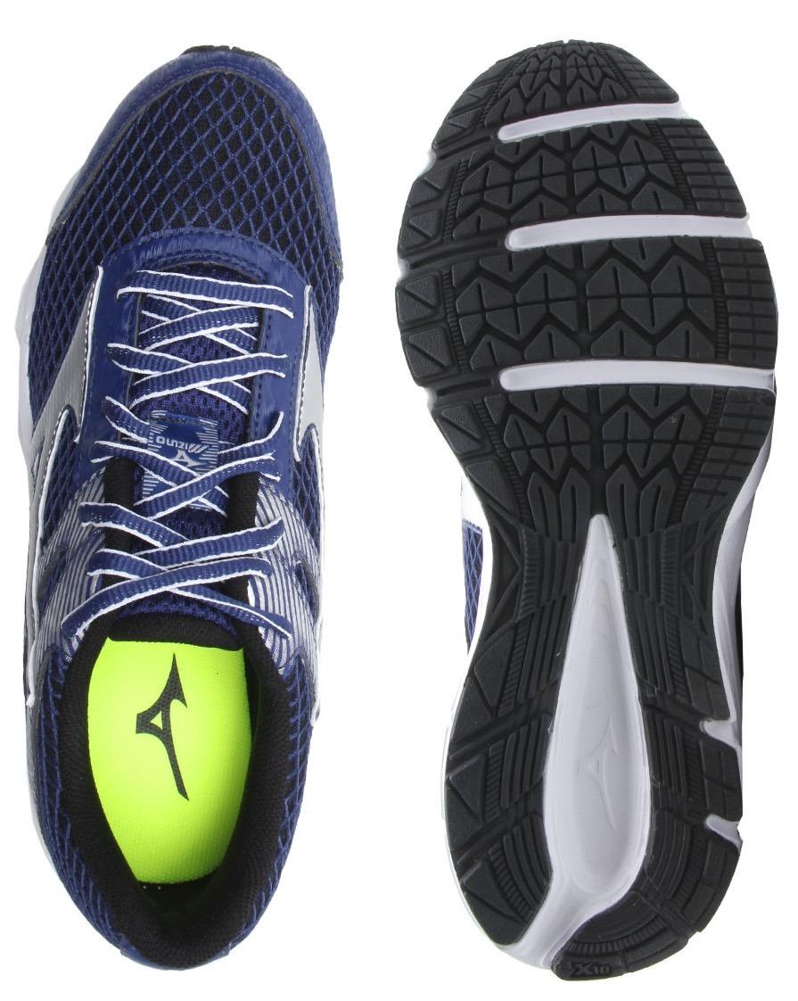 179f1ea03 tênis masculino mizuno strike 2 n azul super lançamento. Carregando zoom.