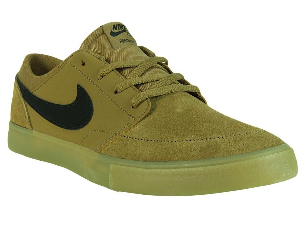 topowe marki gładki 100% jakości Tênis Masculino Nike Sb Portmore Ii Solar - Golden Beige / B