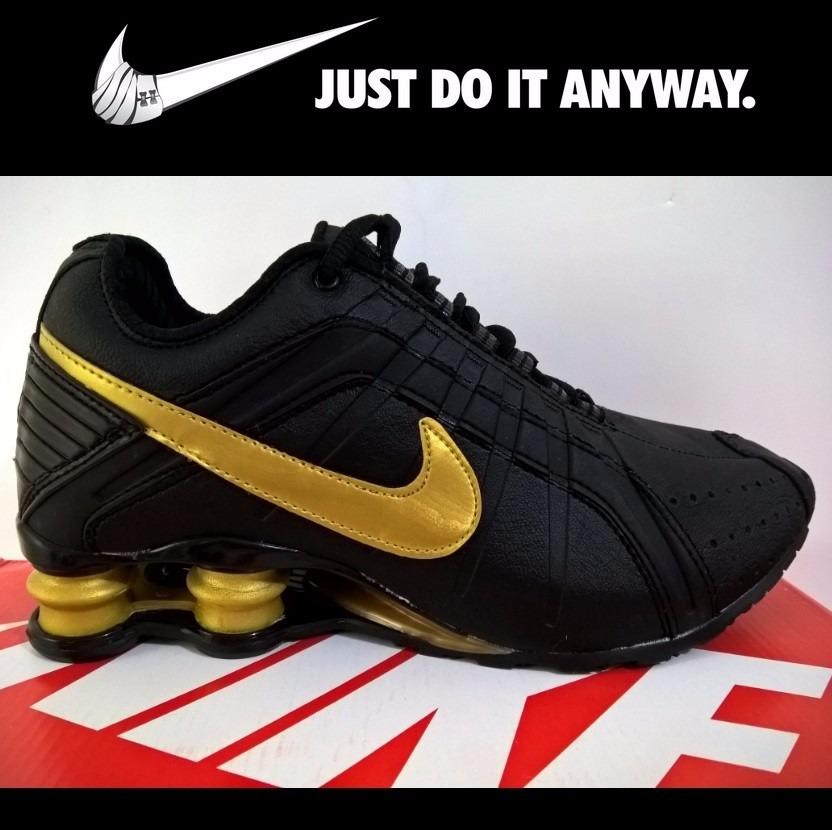 dd4f57555d7aa Tênis Masculino Nike Shox Junior Comprar Tênis Marca Calçado - R ...