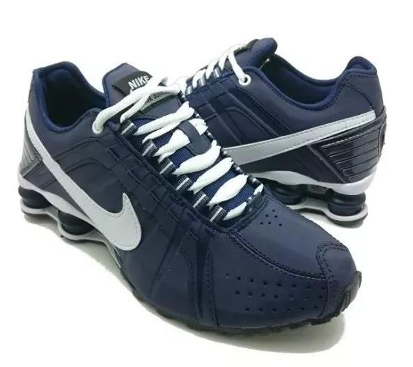 Tênis Masculino Nike Shox Junior Importado Envio 2 Pares - R  454 4371a792ed13d