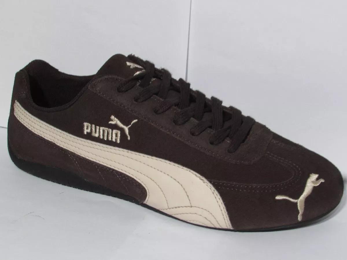la moitié 5e43e 89ad7 Tênis Masculino Puma Speed Cat Original Colonelli 469392