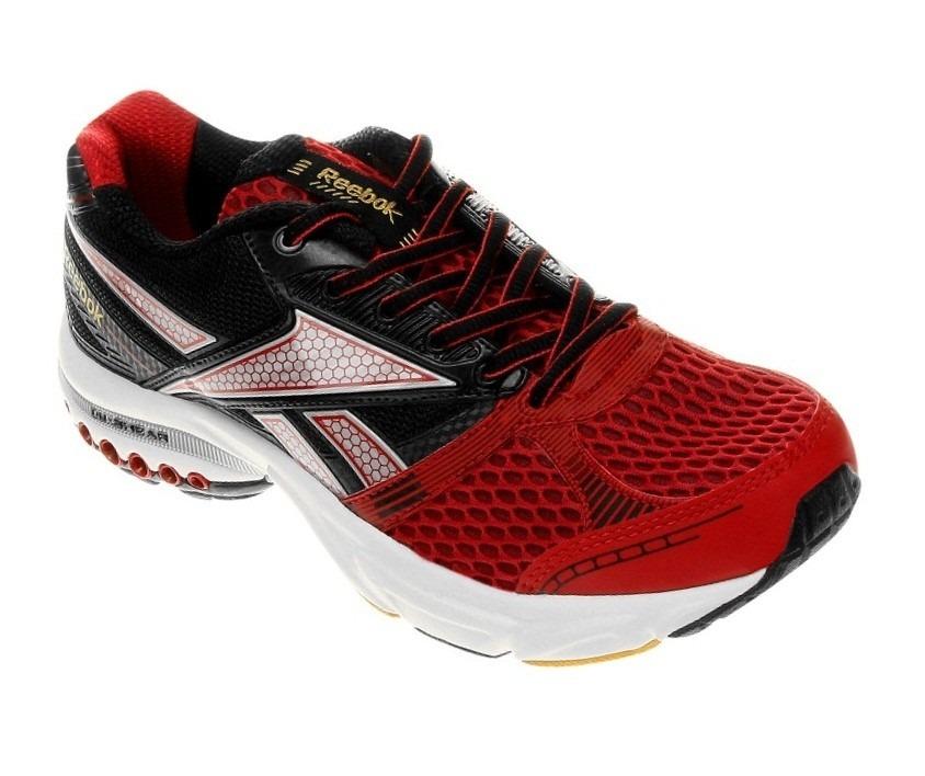 6879a182f7f Tênis Masculino Reebok Dual Up Running - Preto Vermelho - R  219
