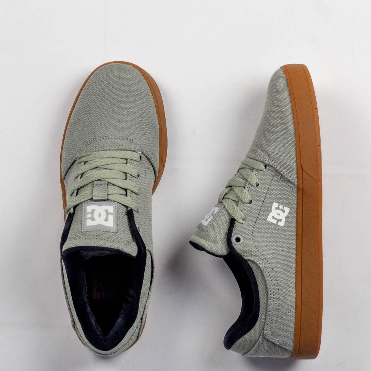 718192db39ef4 Tênis Masculino Skate Dc Shoes Crisis Tx La Grey/gum - R$ 260,00 em ...