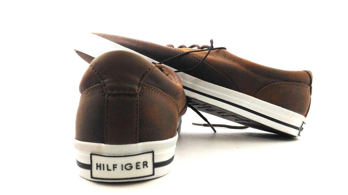 6369cf1d7 tênis masculino tommy hilfiger marrom original nº44 (10 usa). Carregando  zoom.