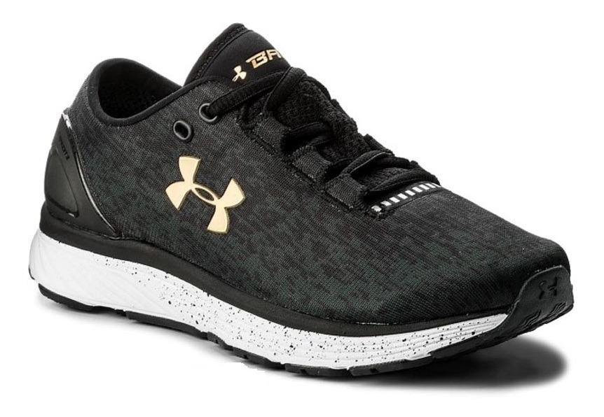 official photos 838a4 0c3db Tênis Masculino Under Armour Charged Bandit 3 Ombre Preto