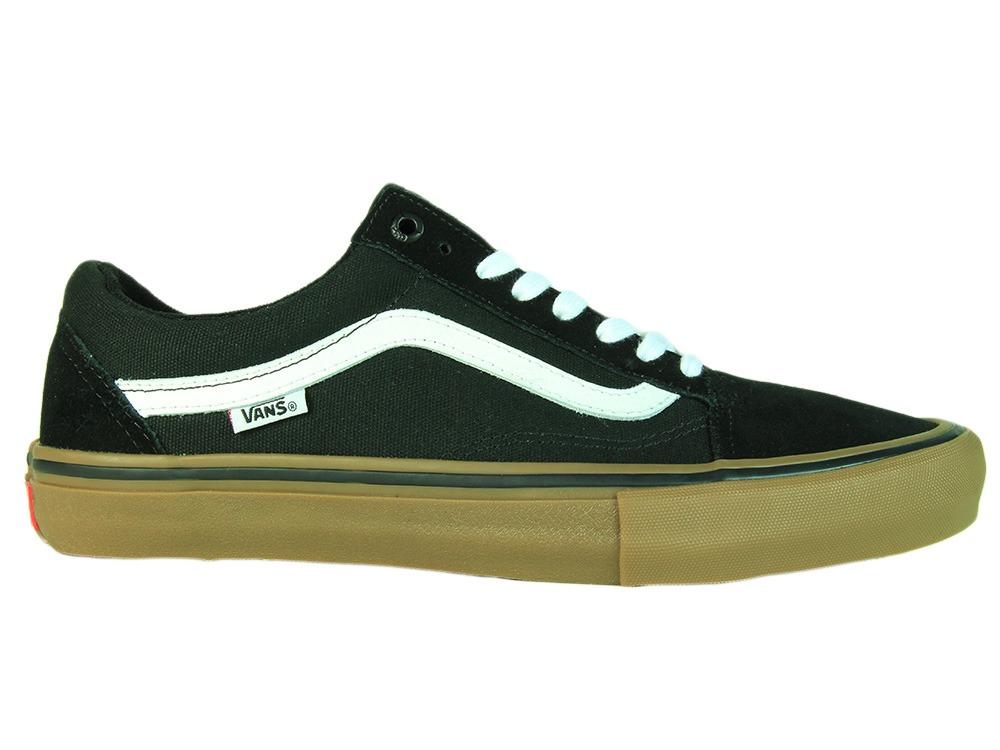 b157cc67da2 tênis masculino vans old skool pro - black gum - 40 - black . Carregando  zoom.