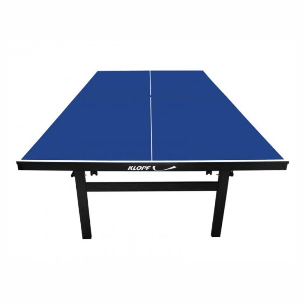 95dd24b32 Carregando zoom... mesa tênis de mesa ping pong klopf 1084 mdf rodízios  paredão