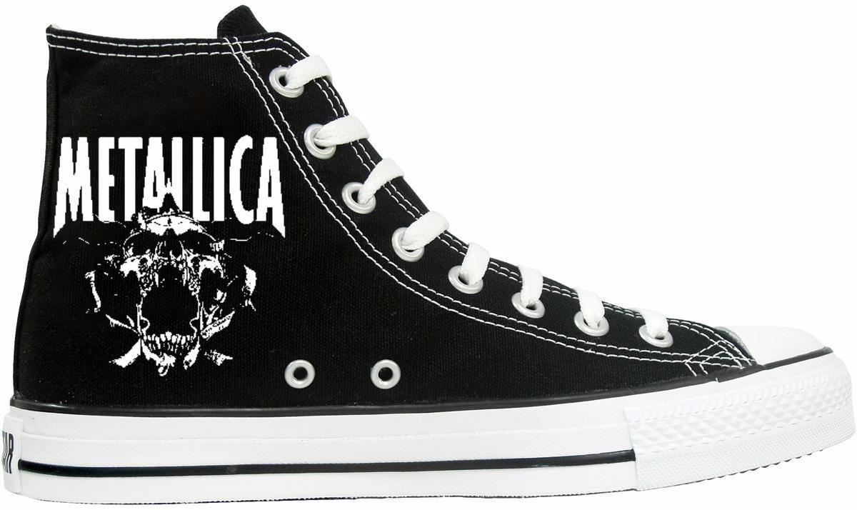 converse chucks metallica