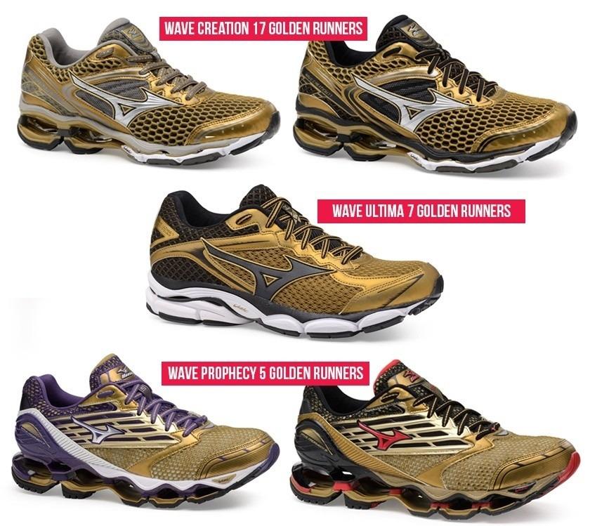 6437d3666e tênis mizuno wave creation 17 golden run feminino masculino · tênis mizuno  feminino. Carregando zoom.