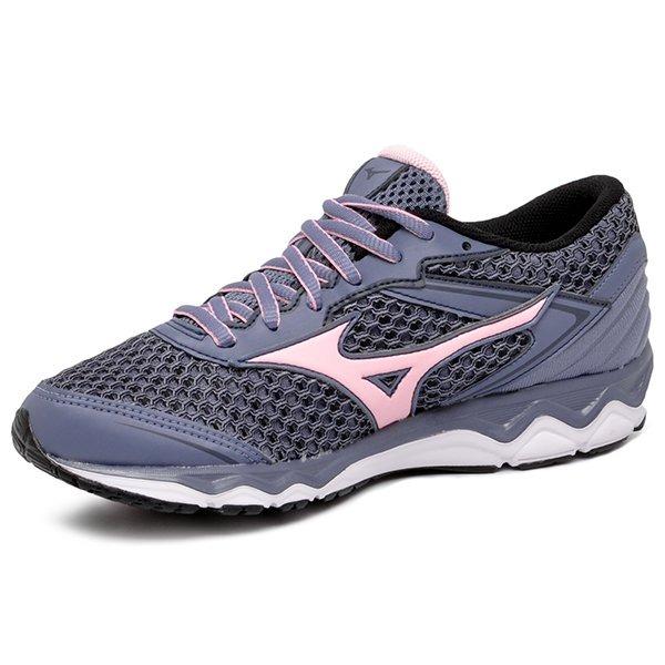 0b6f2c474d tênis mizuno wave hawk 4141130-3663 grafite rosa feminino. Carregando  zoom... tênis mizuno feminino