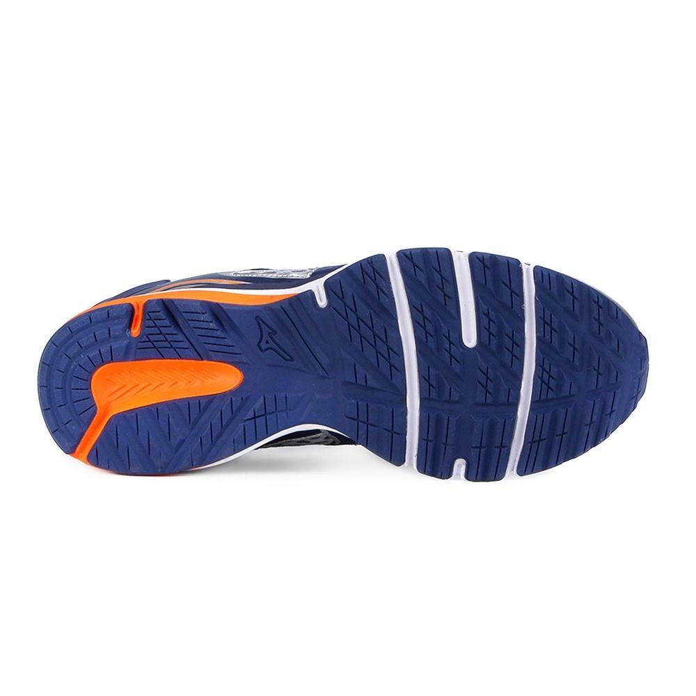 tênis mizuno iron 2 n - masculino - prata azul. Carregando zoom. 8b9e45703a542
