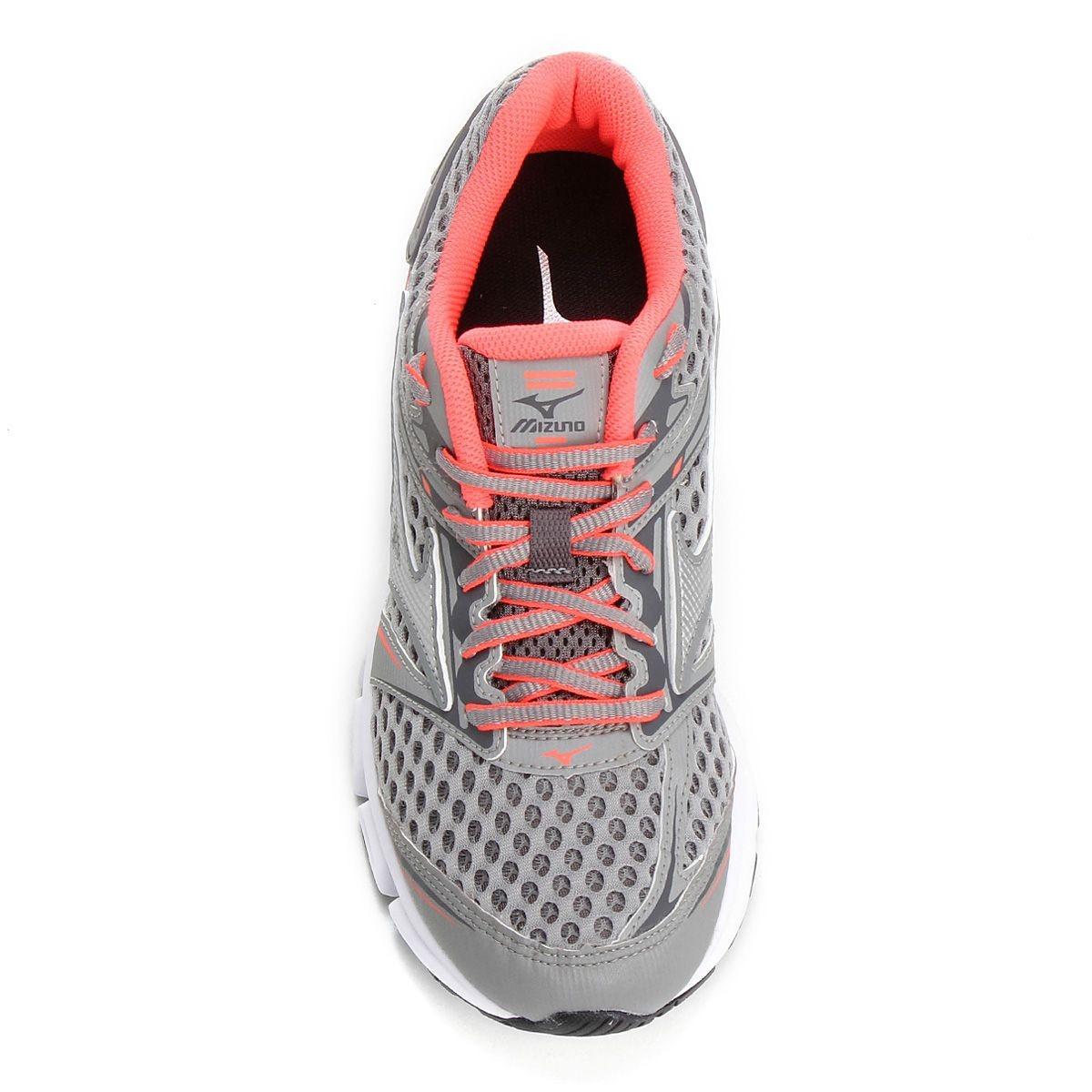 tênis mizuno iron p feminino - grafite e rosa. Carregando zoom. fecc04336ca1d