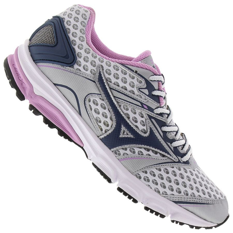 c82ec4b6bf1 tênis mizuno iron p feminino - prata e rosa. Carregando zoom.