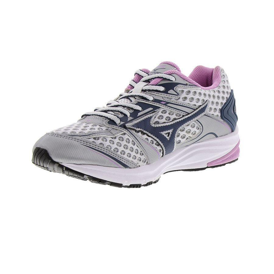 a006da49d1 tênis mizuno iron p feminino - prata e rosa. Carregando zoom.