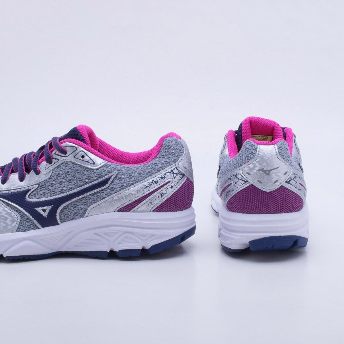 6c986a70516 tênis mizuno jet 2 n feminino - prata e rosa promoção. Carregando zoom.