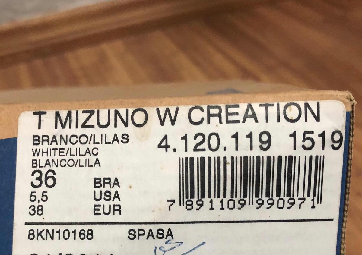 515d04f936145 Tênis Mizuno Wave Creation 12 N. 36 - R$ 300,00 em Mercado Livre