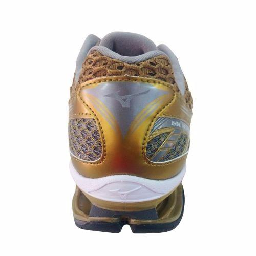 tênis mizuno wave creation 17 golden run lançamento