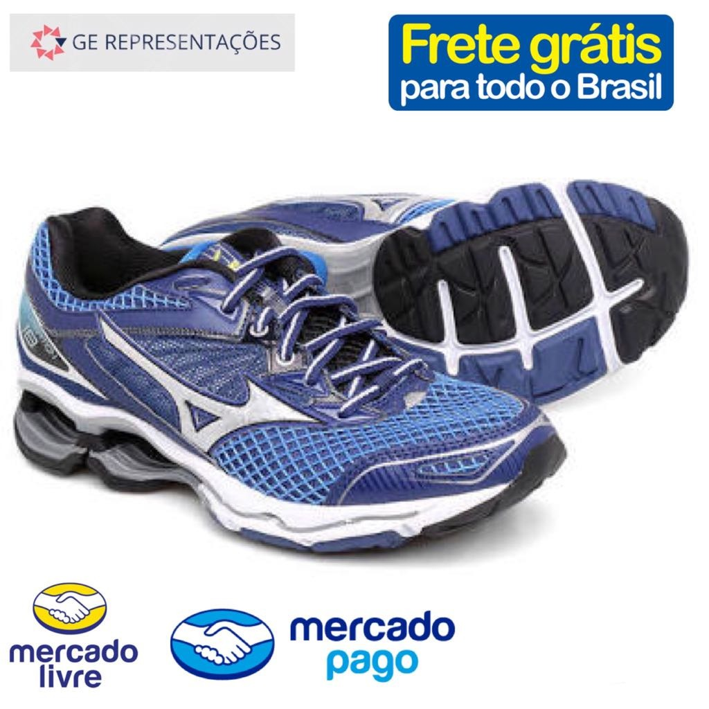 tênis mizuno wave creation 18 - original - nf-e. Carregando zoom. 5585d7770a11c