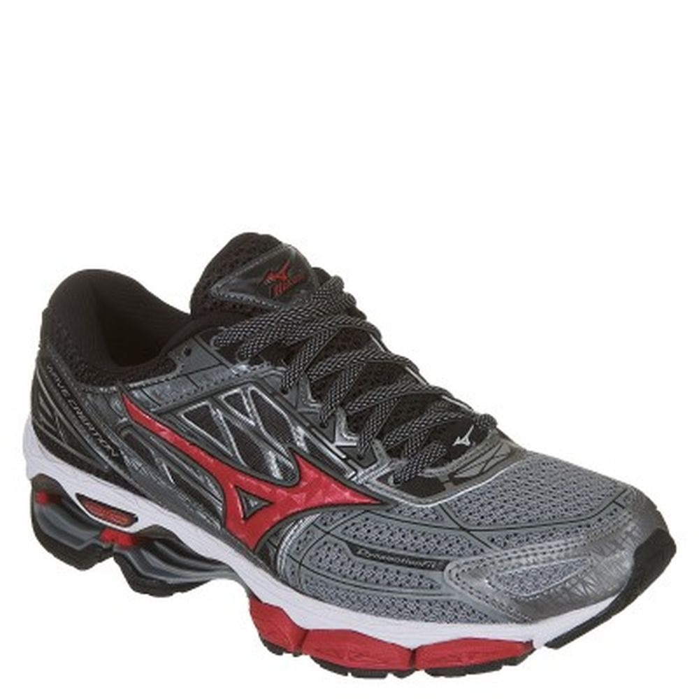 Tênis Mizuno Wave Creation 19 Masculino Grafitevermelho No Shoptime ca03a454febca