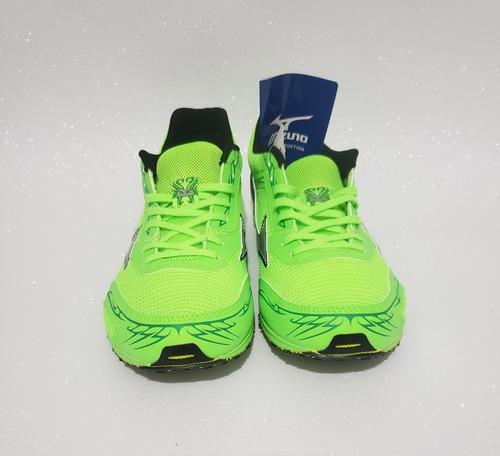 best website 0fb59 2e8a1 Tênis Mizuno Wave Ekiden 11 Masculino Running Cinza Ou Verde Muito Leve!  Original Com Frete Grátis E Nota Fiscal
