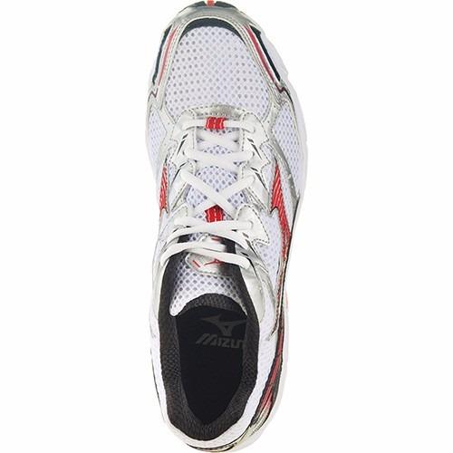 0b4b1c064ce97 Tênis Mizuno Wave Hawk 2 - Branco/vermelho - R$ 179,90 em Mercado Livre