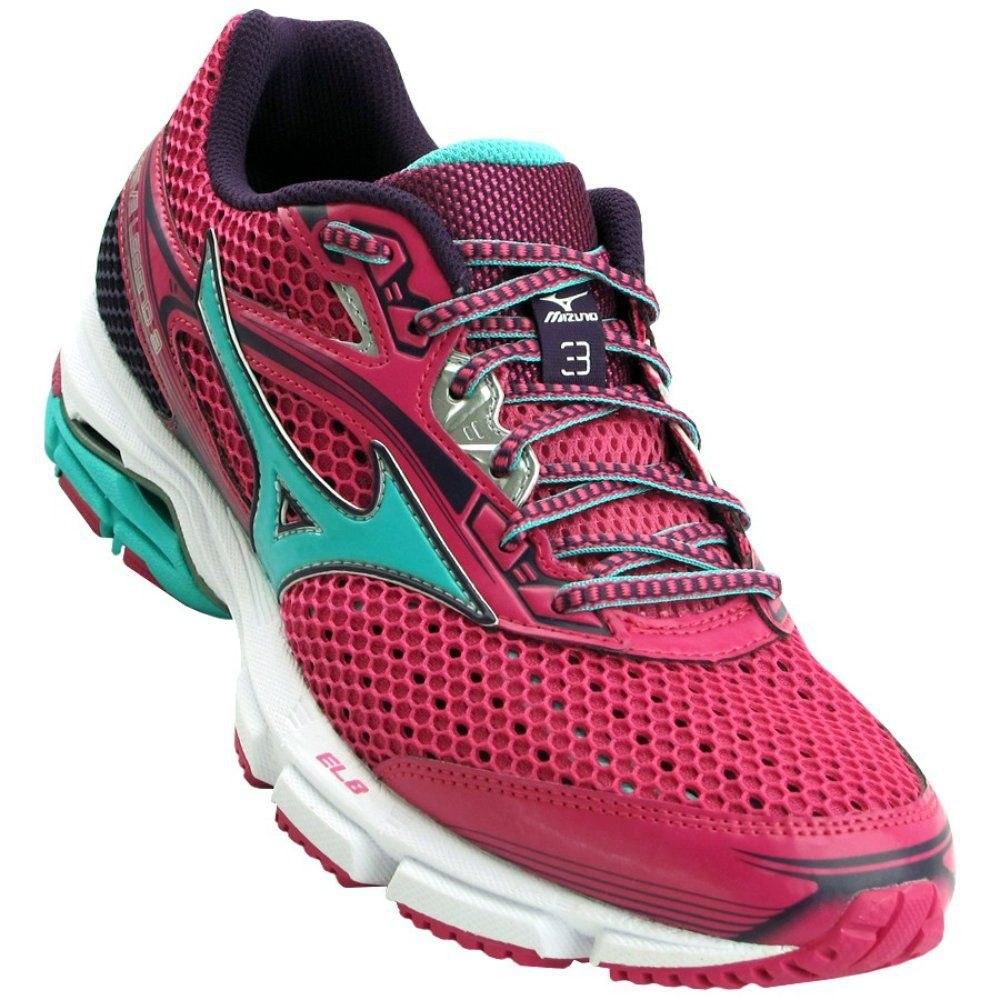 tênis mizuno wave legend 3 - feminino - rosa verde. Carregando zoom. 832da61e7a06f