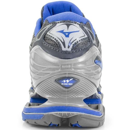 tênis mizuno wave prophecy 7 - 4140462.0601 grafite/azul
