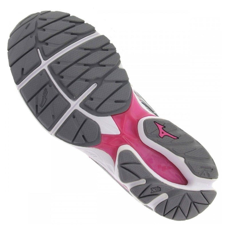 3ad352450d308 tênis mizuno wave prorunner 20 4136852 - cinza e rosa. Carregando zoom.