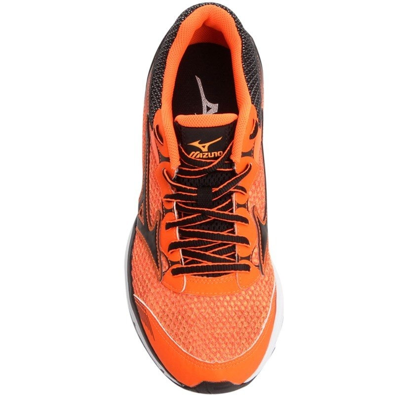 277dffd7e3 tênis mizuno wing n 4137834 - laranja e preto. Carregando zoom.