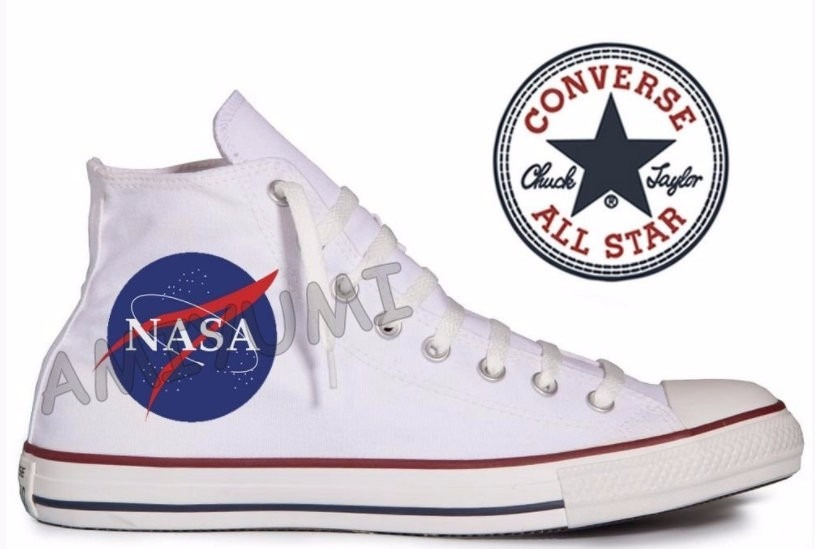 f6bbacf8ef8 tênis nasa astronomia all star converse personalizado. Carregando zoom.